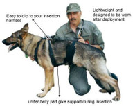 Redline K9 Tactical Insertion Harness
