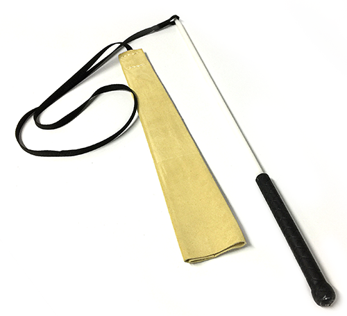 Flirt Pole with Leather Bite Rag