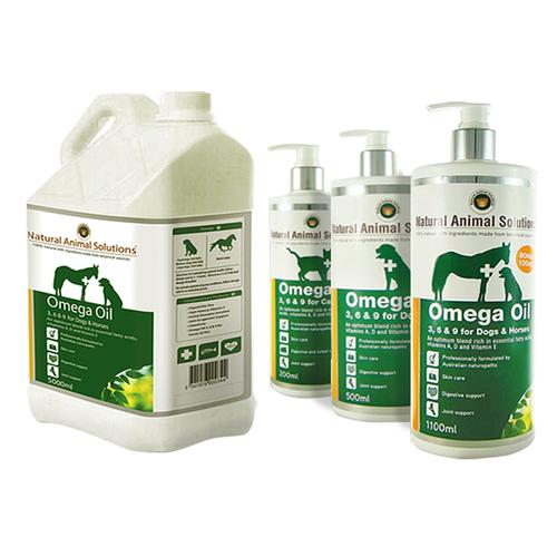 Natural Animal Solutions Omega Oil 500mL
