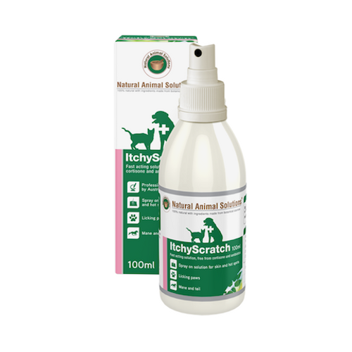 Natural Animal Solutions Itchy Scratch Spray 100ml