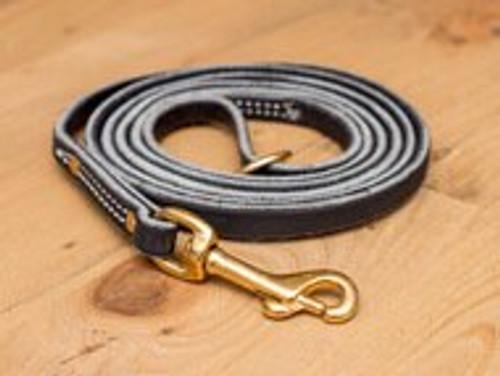 """Premium Leather Leash 3/8"""""""