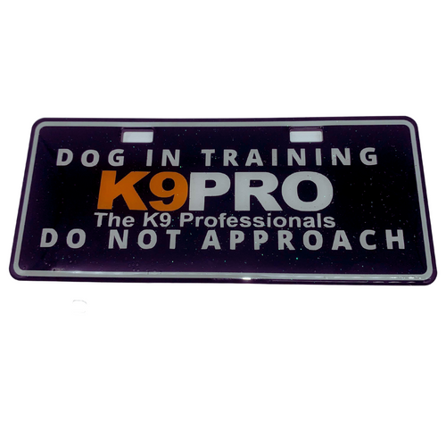 Dog Crate Tag - IN TRAINING