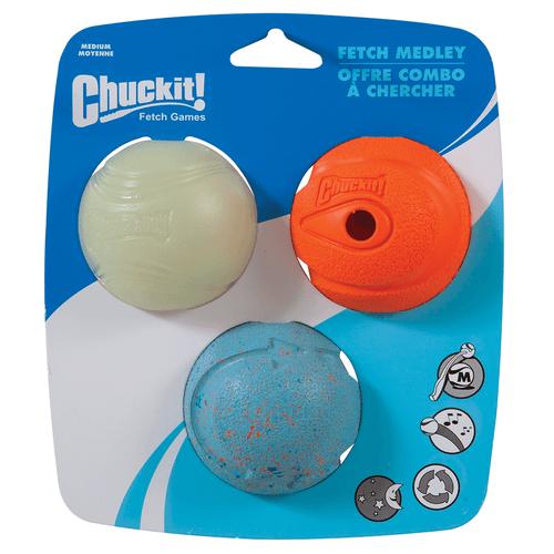 Chuckit! Fetch Medley Original 3 Pack