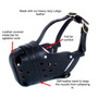 Leather Muzzle Redline K9