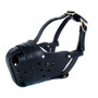 Leather Police dog muzzle Australia K9Pro