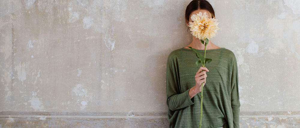 Mama B Clothing from Italy featuring natural fibres and sustainable production
