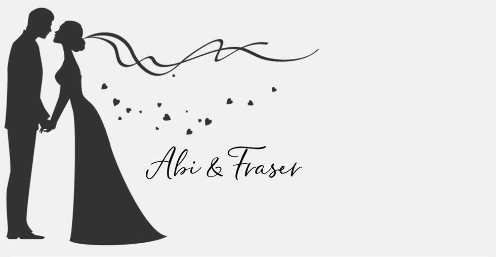Abi and Fraser Wedding Gift List