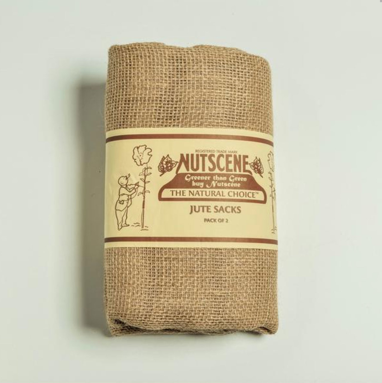 Traditional hessian sacks have been utilised and appreciated by gardeners for many years.  Suitable for carrying and storing vegetables such as your potatoes or collecting garden waste - and don't forget the traditional sack race!  Size is 83cm x 50cm  (33 x 20 inches)  Sold in pairs.  Made from natural jute fibres - these sacks are safe to compost and are biodegradable.