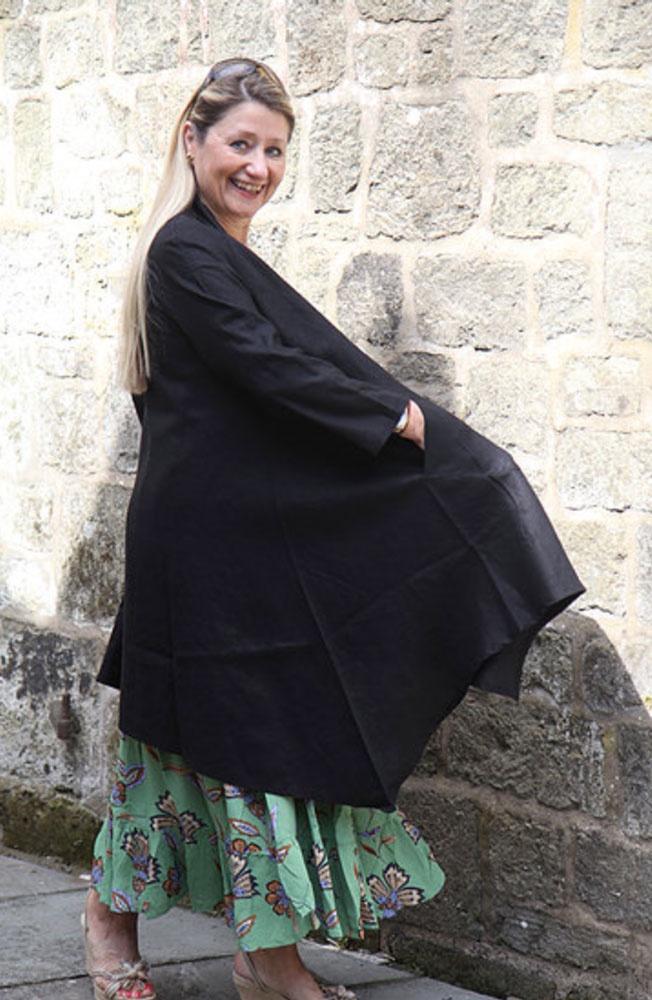 Masai Janessa Linen Long Jacket