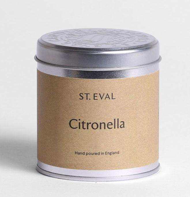 St Eval Citronella Tin
