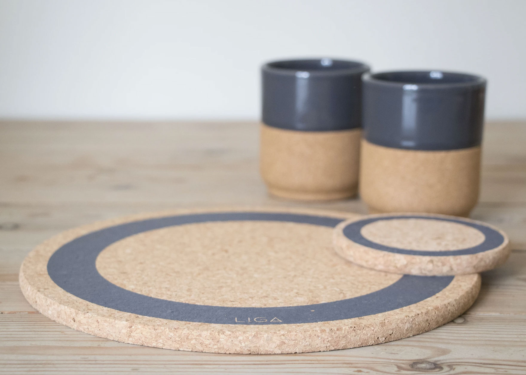 Liga Cork Earth Coasters