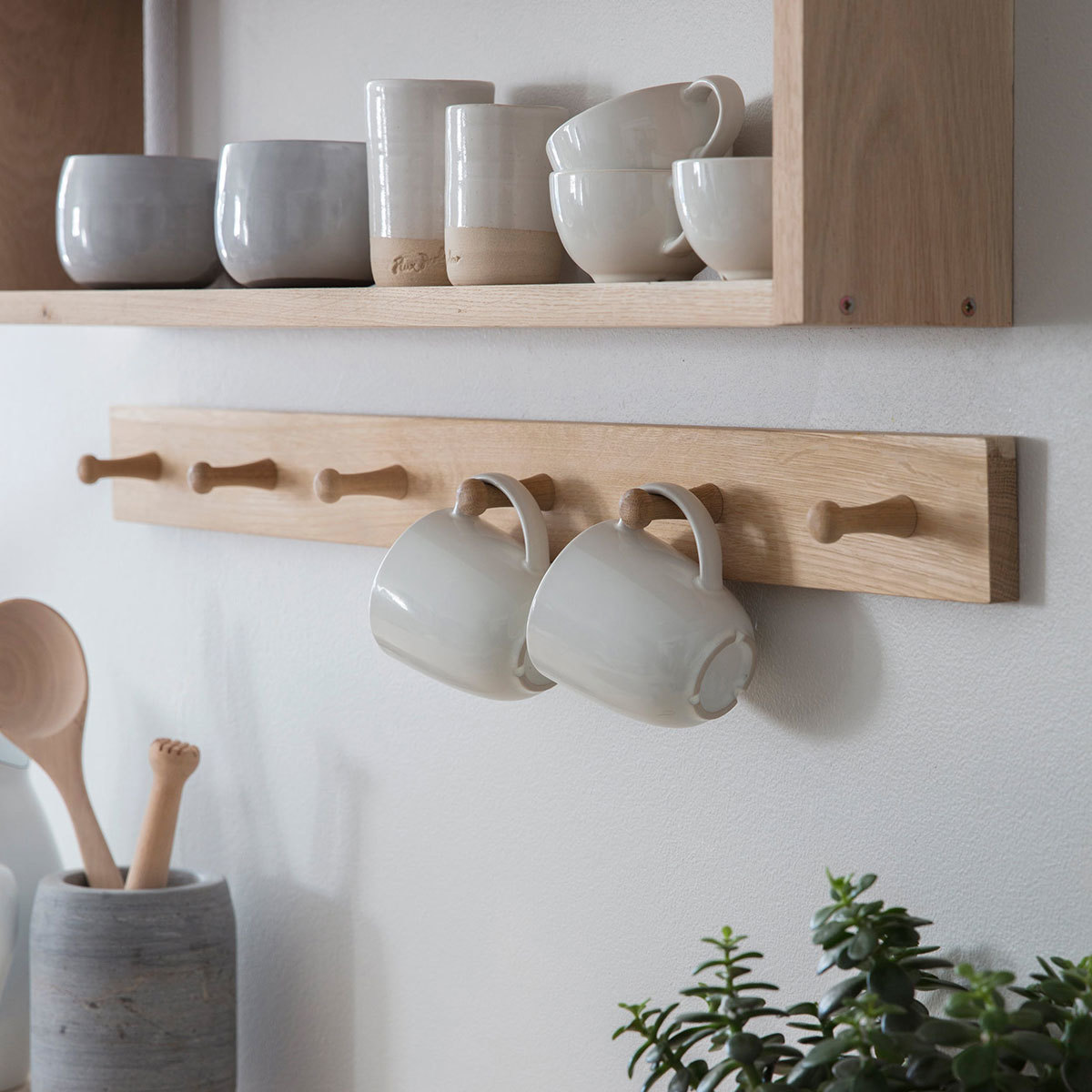 Pegs and Shelving