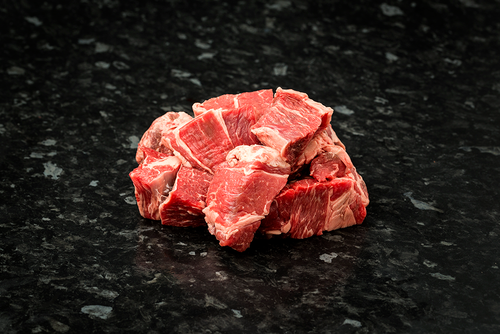 Diced Beef, 500g