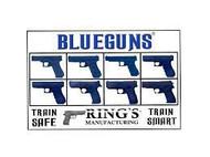 Blue Training Guns By Rings
