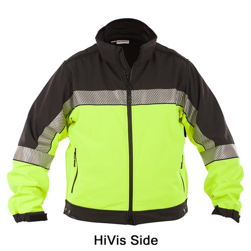 Shield Color Block Soft Shell Jacket - SH3724RV-3XL-R