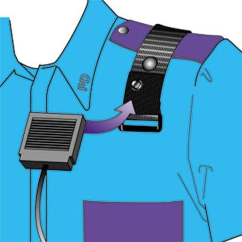 Epaulet Microphone Holder