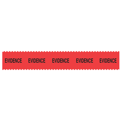 Red Sirchmark Evidence Tape 54 Ft