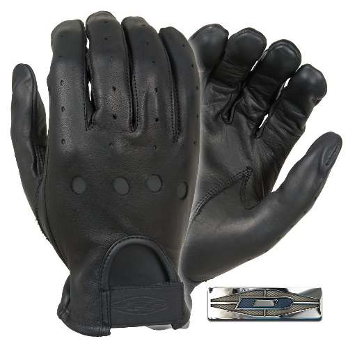 Full-Finger Leather Driving Gloves