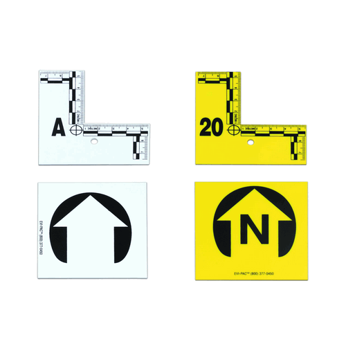 L Shaped Flat-type Markers