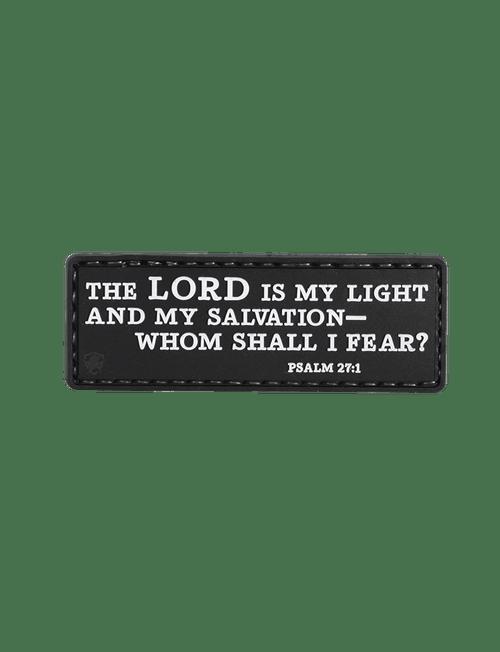 Psalm 27:1 Morale Patch
