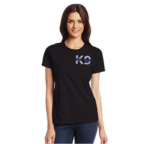 WOMEN's T-Shirt - K9 Thin Blue Line