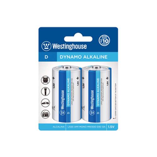 Westinghouse D Alkaline 2 Pack