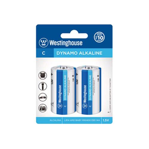 Westinghouse C Alkaline 2 Pack