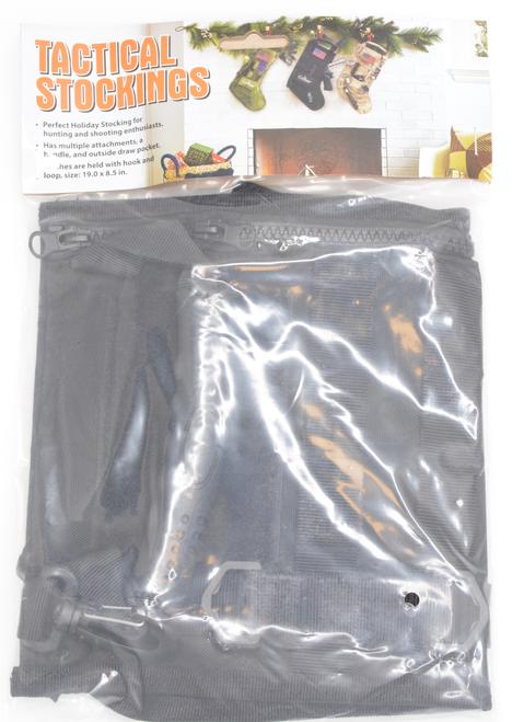 Caliber Gourmet Tactical Stocking, Black