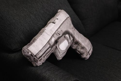 Automatic Handgun Pillow