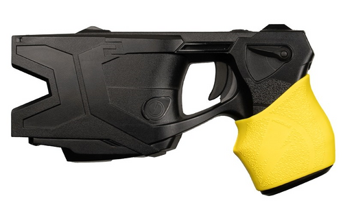 Handall Hybrid Taser Conducted Electrical Weapon Grip Sleeve - Fits Models X26, X26p, X2 Yellow