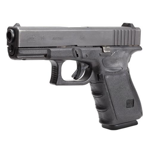 Glock 19 23 32 38 Wrap Rub Blk Gen 3