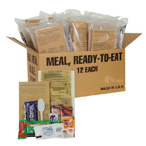 Deluxe Field Ready Rations (mre) - TSP-4891000