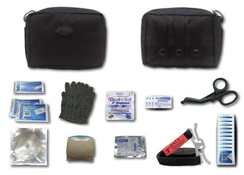 Emergency Tactical Response Gunshot Kit W/ R.a.t. Tourniquet