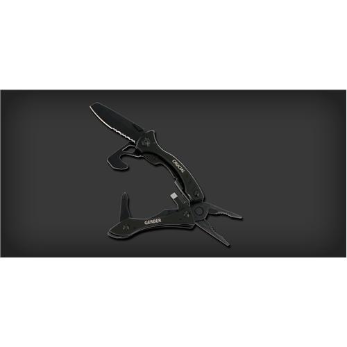 Crucial Black Multi-tool