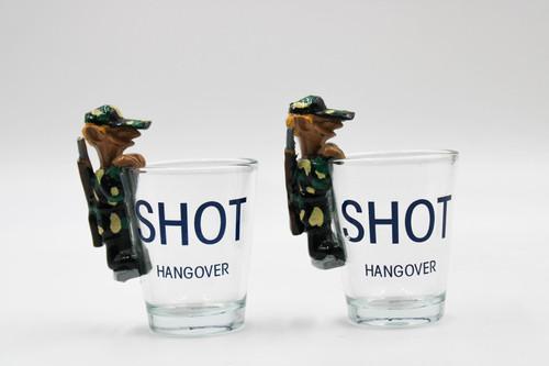 Shot Hangover Shot Glass - Set Of 2