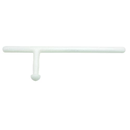 Pr-24 Side-handle White Foam Training Baton