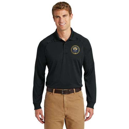 CornerStone®  Long Sleeve Snag-Proof Tactical Polo