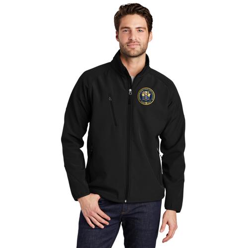 Port Authority® Textured Soft Shell Jacket