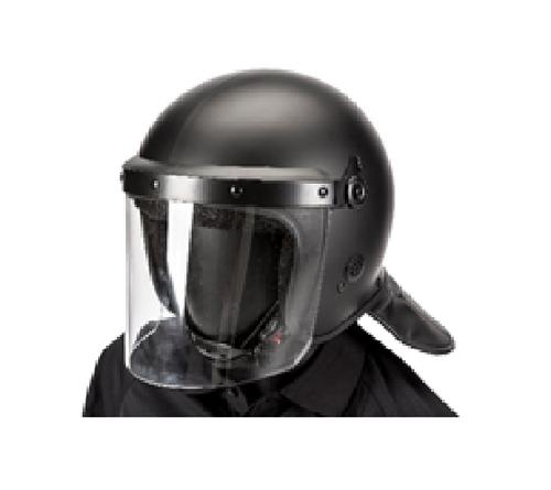 Riot Helmet - Straight Face Shield