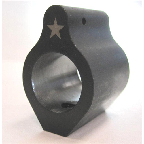 Low Profile Gas Block (steel With Set Screws) 625