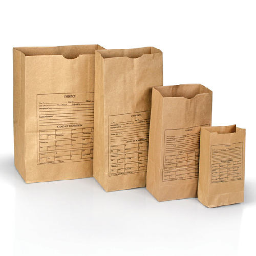 Printed Paper Evidence Bags  Style 4