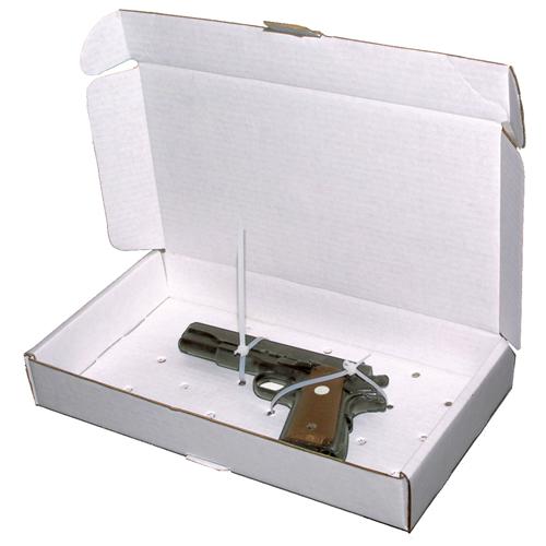 Gun Evidence Boxes 14 3/4'' X 7 7/8'' X 2 1/4'' (set Of 25)