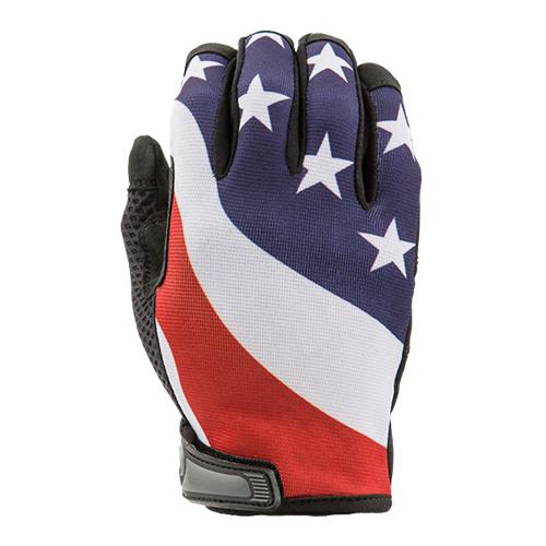 US Flag - Unlined - Full Finger Gloves