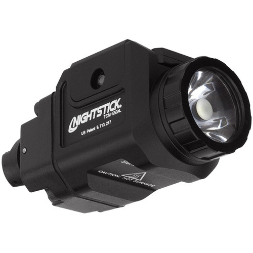 Compact Tactical Weapon-mounted Light