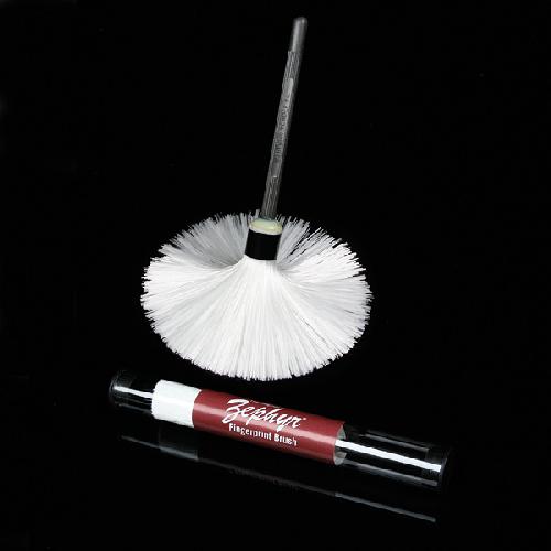 Zephyr Fiberglass Fingerprint Brush