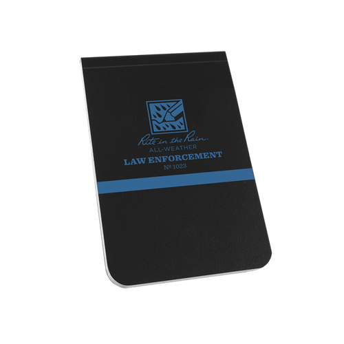 Thin Blue Line All-weather Notebook