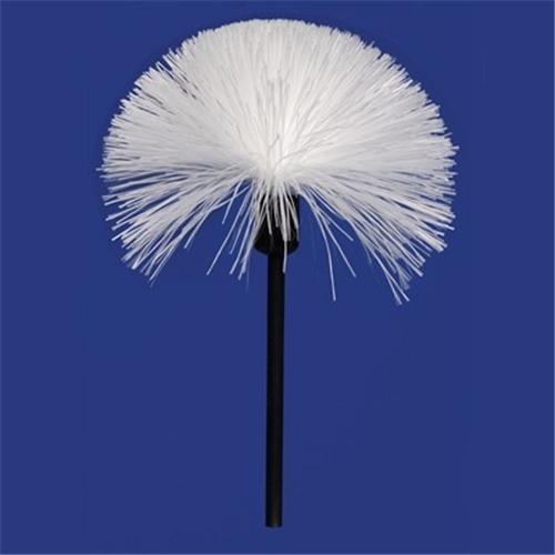Standard Size Fiberglass Brush With Plastic Handle