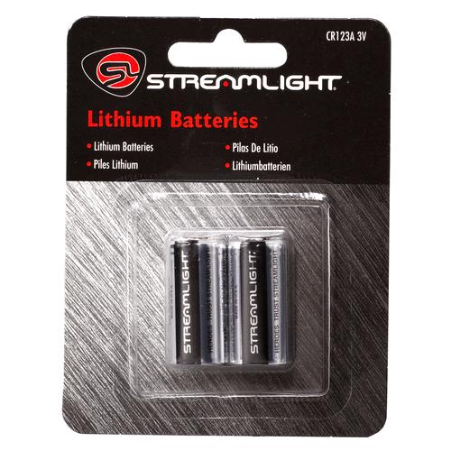 3v Cr123a Lithium Batteries (2 Pack)