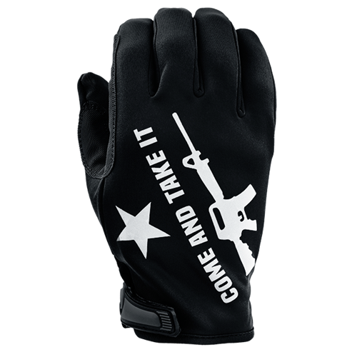 Come & Take It - Unlined Gloves - Reflective