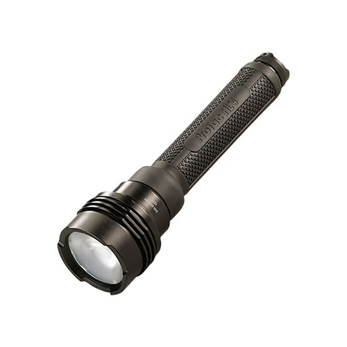 Black, High Lumen Tactical Flashlight